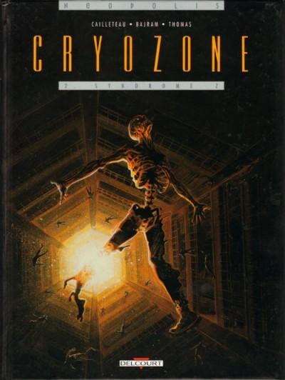 Couverture Cryozone tome 2 - syndrôme z