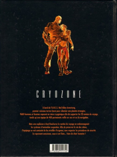 Dos Cryozone tome 2 - syndrôme z