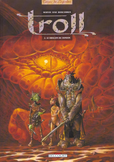 image de troll tome 2 - le dragon du donjon