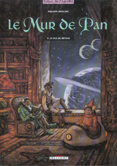 Couverture Le mur de pan tome 3 - le fils du rêveur