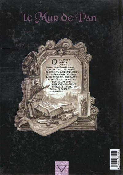 Dos Le mur de pan tome 3 - le fils du rêveur