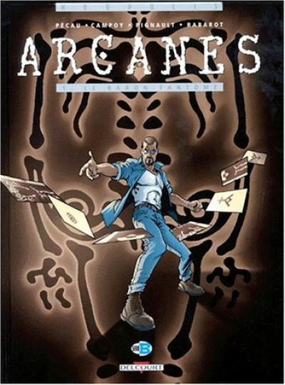 Couverture arcanes tome 1 - le baron fantome