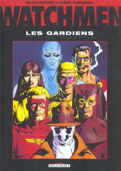 Couverture Watchmen - les gardiens - intégrale