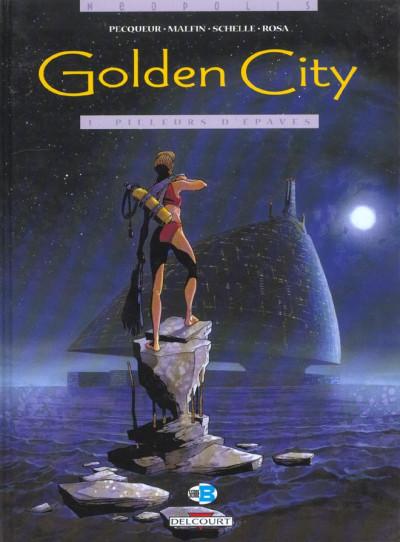 Couverture golden city tome 1 - pilleurs d'épaves