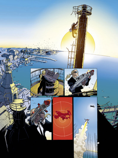 Page 4 golden city tome 1 - pilleurs d'épaves