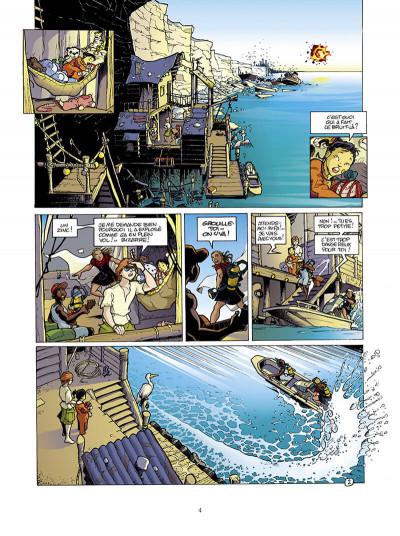 Page 5 golden city tome 1 - pilleurs d'épaves