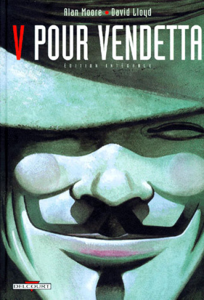 Couverture V pour Vendetta - intégrale