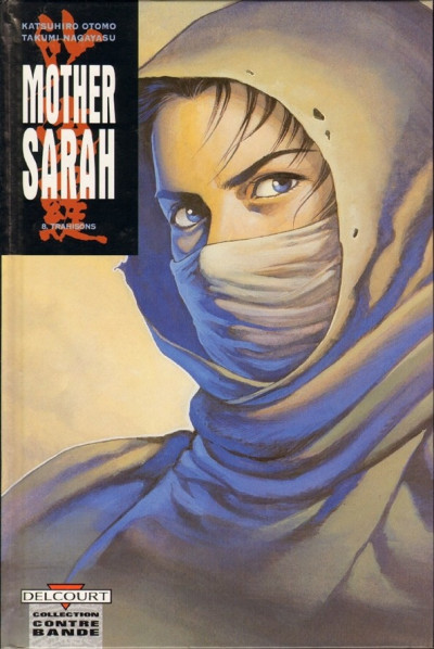 Couverture mother sarah tome 8 - trahisons