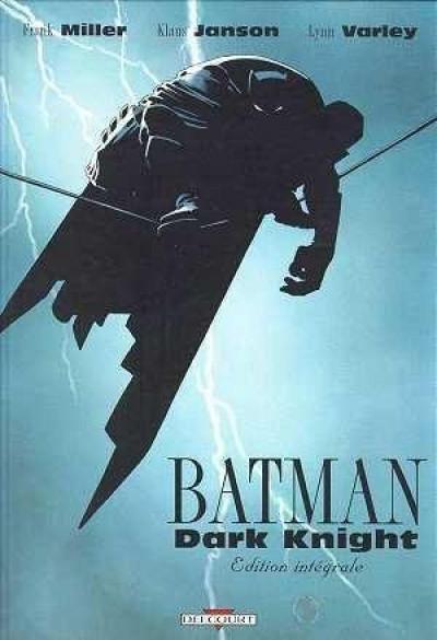 Couverture batman ; dark knight ; intégrale