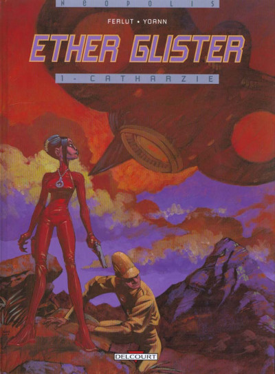 Couverture Ether glister tome 1 - catharzie