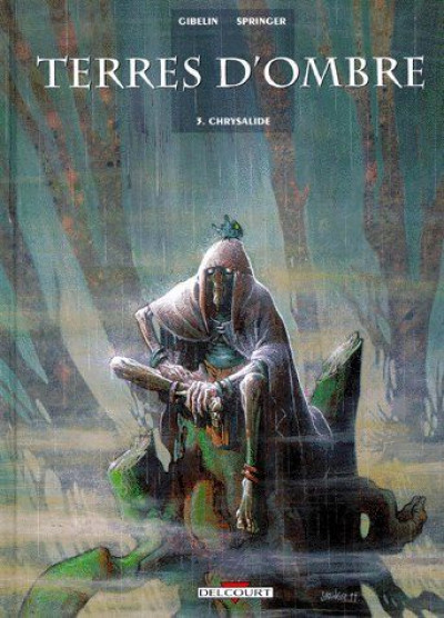 Couverture terres d'ombre tome 3 - chrysalide