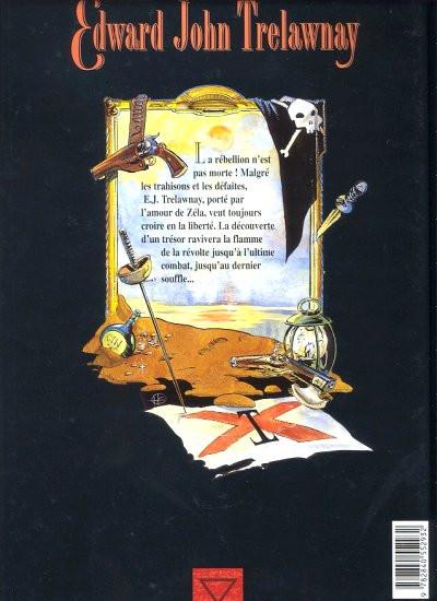 Dos edward john trelawnay tome 3 - l'ultime combat