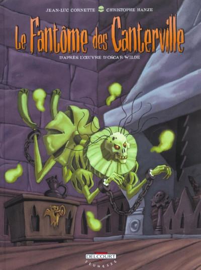 Couverture Le fantôme des canterville tome 1