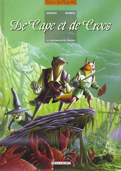Couverture De cape et de crocs tome 4