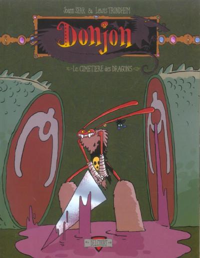 Couverture donjon crépuscule tome 101 - le cimetière des dragons