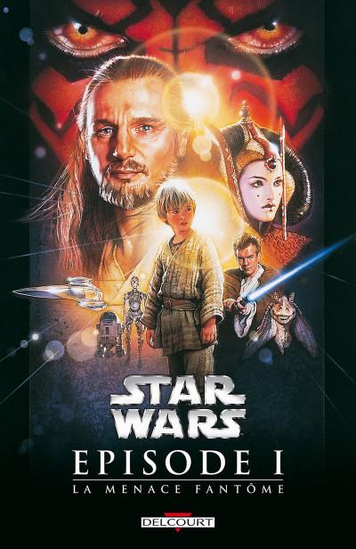 Couverture Star Wars épisode I - La menace fantôme