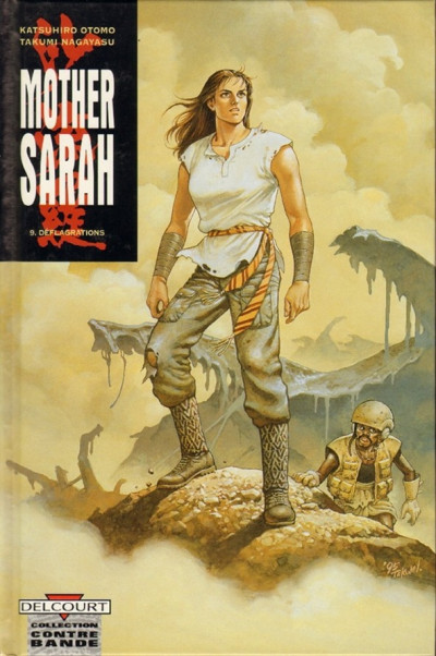 Couverture mother sarah tome 9 - déflagrations