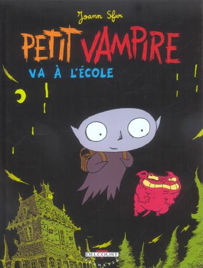 Couverture petit vampire tome 1 - petit vampire va à l'école