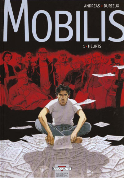 Couverture mobilis tome 1 - heurts