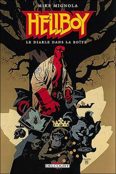 Couverture hellboy tome 5 - le diable dans la boîte