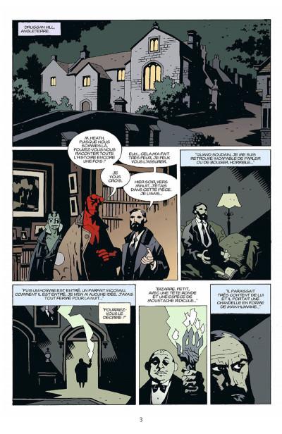 Page 4 hellboy tome 5 - le diable dans la boîte