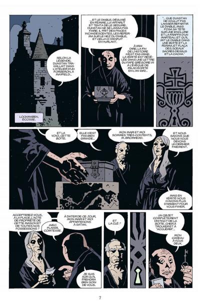 Page 8 hellboy tome 5 - le diable dans la boîte