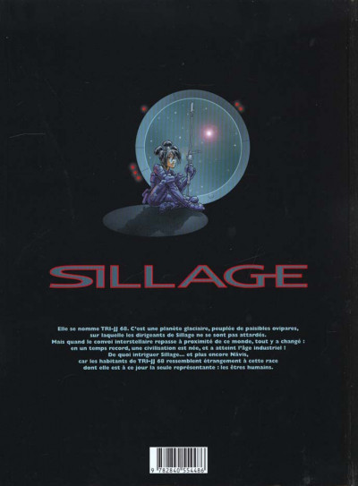 Dos sillage tome 3 - engrenages