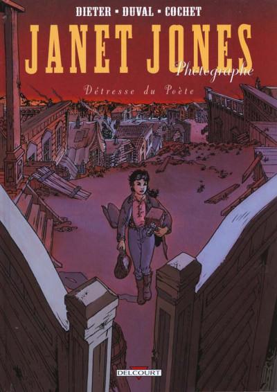 Couverture Janet Jones, photographe tome 2 - la détresse du poète