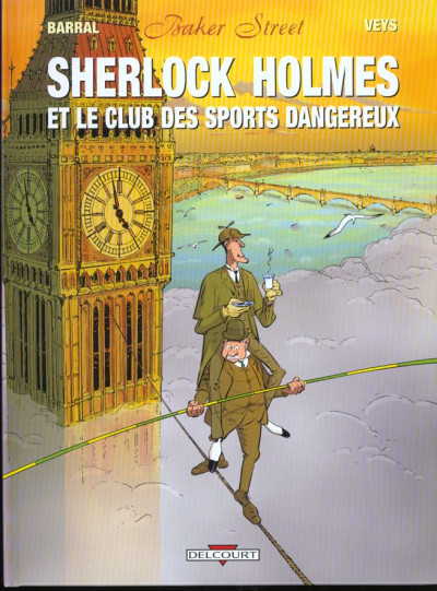 Couverture Baker street tome 2