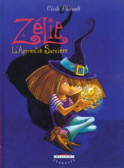 Couverture zelie tome 1 - l'apprentie sorcière