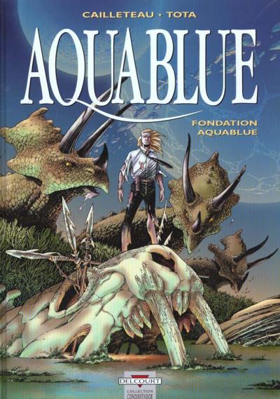 Couverture aquablue tome 8 - fondation aquablue