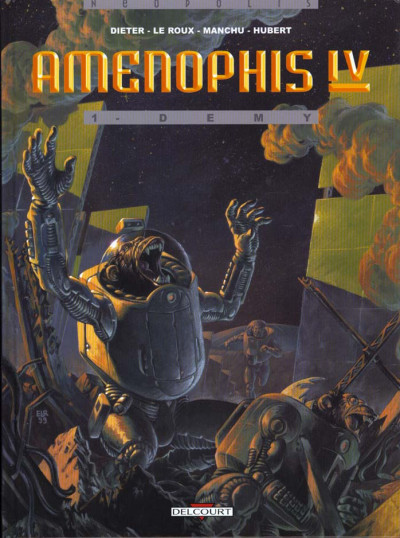 Couverture amenophis iv tome 1 - demy