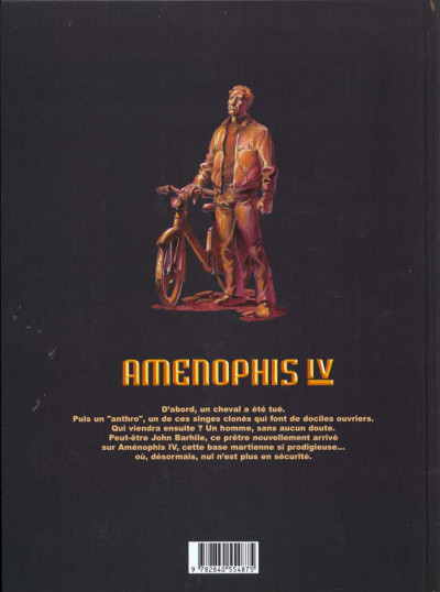 Dos amenophis iv tome 1 - demy