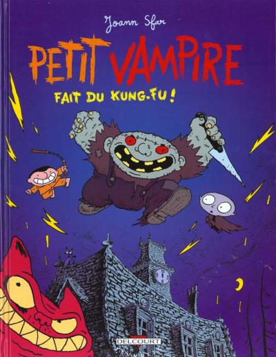 Couverture petit vampire tome 2 - petit vampire fait du kung-fu