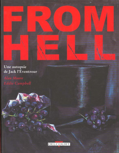 Couverture from hell  ; une autopsie de jack l'éventreur