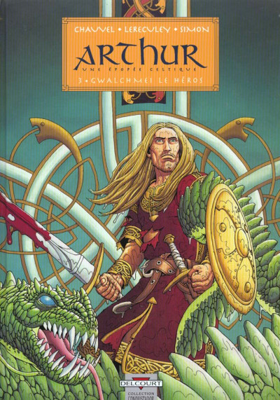 Couverture arthur tome 3 - gwalchemei le heros