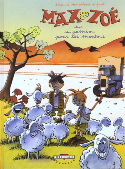 Couverture max et zoé tome 2 - un camion pour les moutons