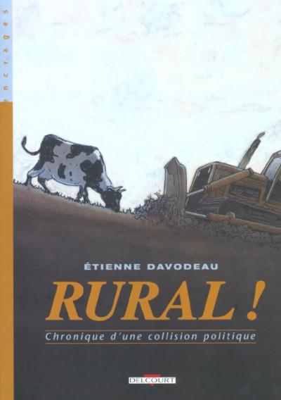 Couverture rural tome 1 - chronique d'une collision politique