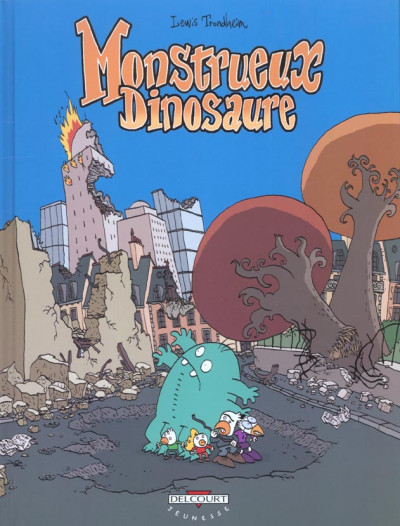 Couverture monstrueux... tome 4 - monstrueux dinosaure