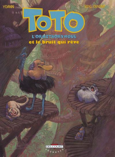 Couverture toto l'ornithorynque tome 4 - toto l'ornithorynque et le bruit qui reve