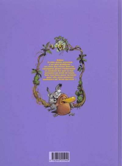 Dos toto l'ornithorynque tome 4 - toto l'ornithorynque et le bruit qui reve