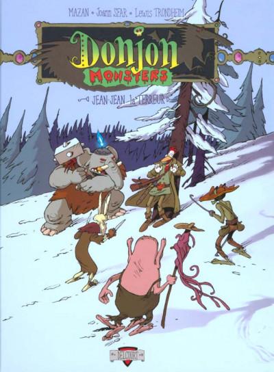 Couverture donjon monsters tome 1 - jean-jean la terreur