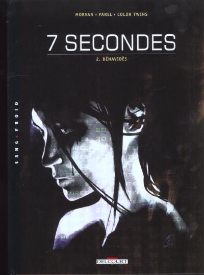 Couverture 7 secondes tome 2 - benavides