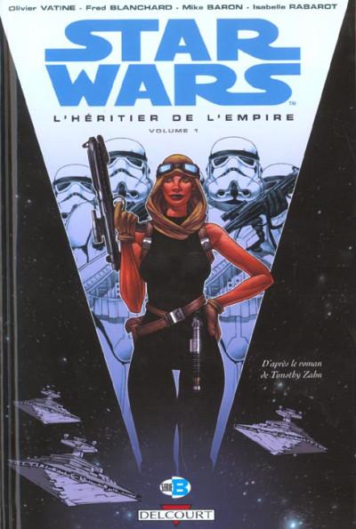 Couverture star wars tome 7 - l'héritier de l'empire i