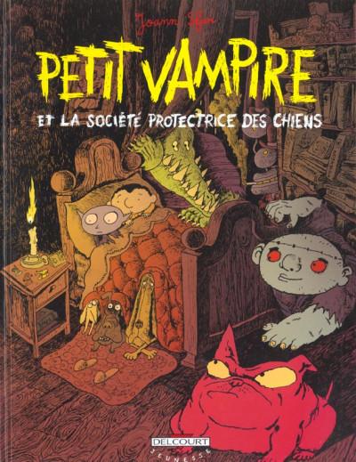 Couverture petit vampire tome 3 - petit vampire et la société protectrice des chiens