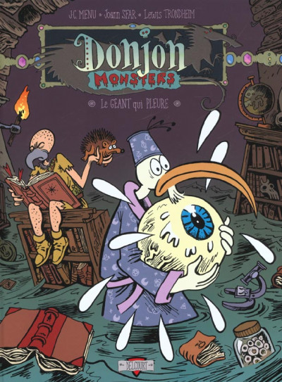 Couverture donjon monsters tome 2 - le géant qui pleure