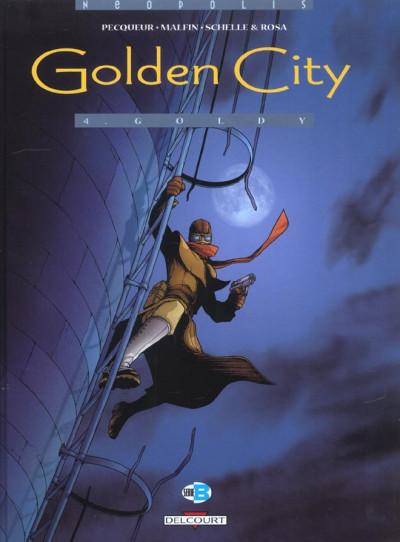 image de golden city tome 4 - goldy