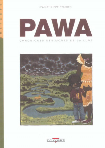 Couverture pawa tome 1 - chroniques des monts de la lune