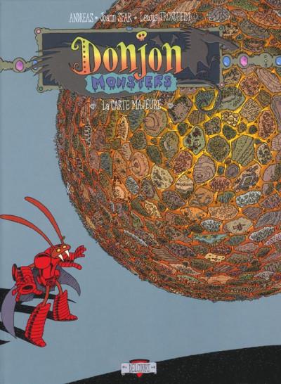 Couverture donjon monsters tome 3 - la carte majeure