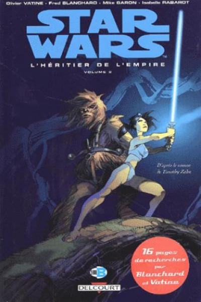 Couverture star wars tome 8 - l'héritier de l'empire ii